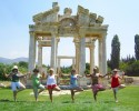 The gateway to Aphrodisias, Turkey. Yoga & Culture Tours